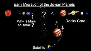 Astronomy - Ch. 8: Origin of the Solar System (14 of 19) Early Migration of the Jovian Planets