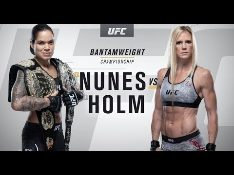 UFC 239: Amanda Nunes vs. Holly Holm Recap