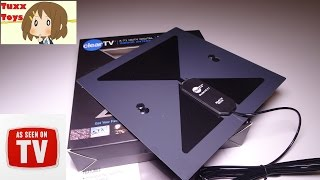 "As Seen On TV ""Clear TV"" HD TV Antenna! - Does it work? Lets test it :D"