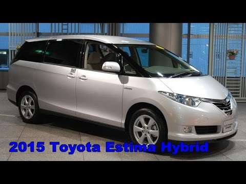 2017 Toyota Estima Hybrid Exterior And Interior