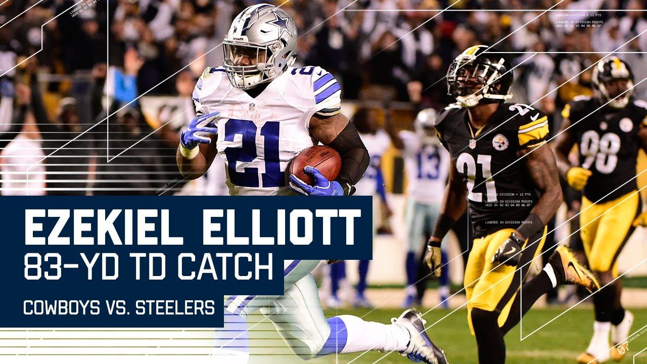 size 40 49a99 bd346 2016 Ezekiel Elliott Game Worn Dallas Cowboys Jersey ...
