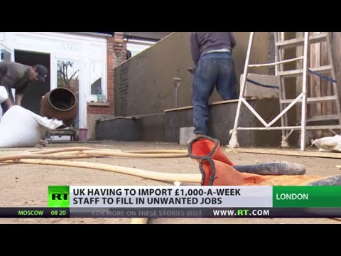 Dirty Work: UK importing migrants to fill employee shortages