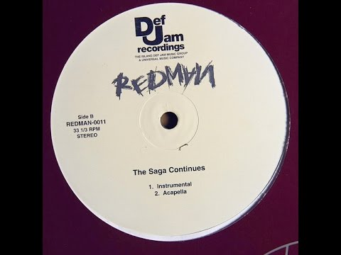 Redman  The Saga Continues Acapella