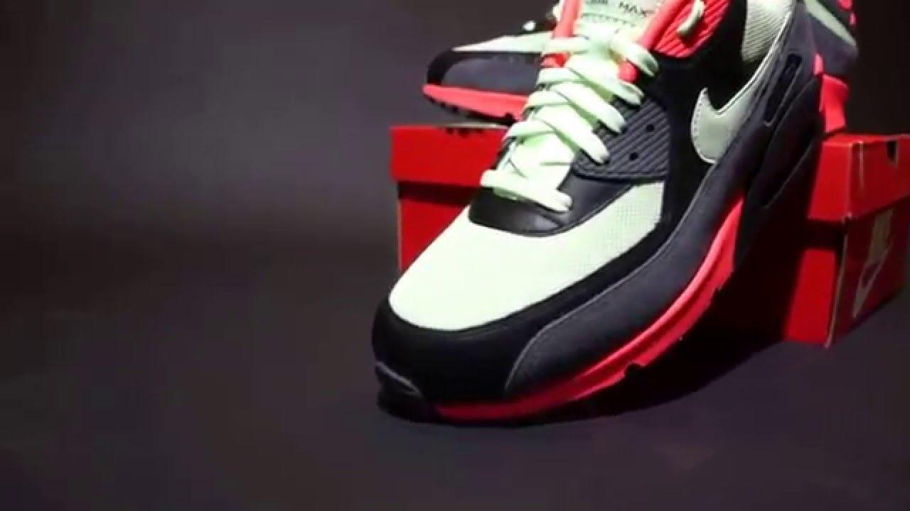 Nike Air Max 90 Essential Vapor Green Infrared Black