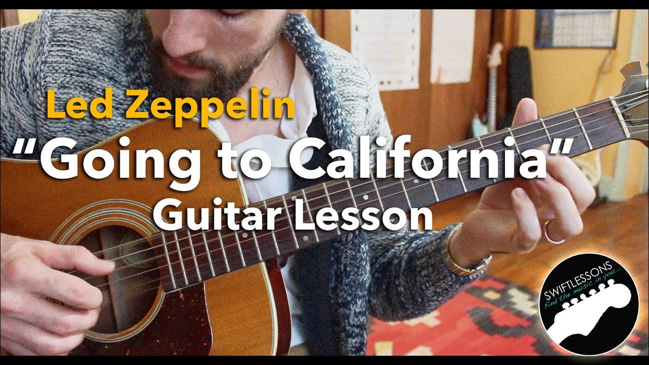 Led Zeppelin Going To California Acoustic Fingerpicking Guitar