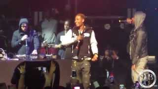 "Fetty Wap Performs ""Trap Queen"" At Best Buy Theater (All Star Weekend 2015)"