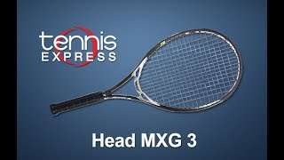 Head MXG 3 Racquet Review| Tennis Express