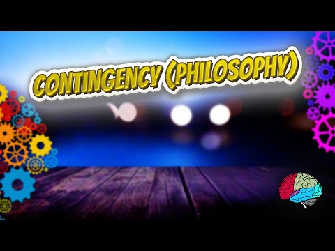 Contingency philosophy - Know it ALL 🔊✅