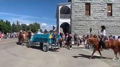 Baker Oregon  Haines Parade