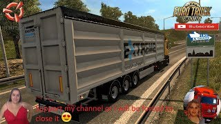 Euro Truck Simulator 2 (1.37)   Knapen K100 Ownable Trailer v1.3.1 by Kast Mercedes Actros MP4 by Galimin Fast Delivery to Krakow FMOD ON and Open Windows Naturalux Graphics and Weather + DLC's & Mods https://forum.scssoft.com/viewtopic.php?f=36&t=270442
