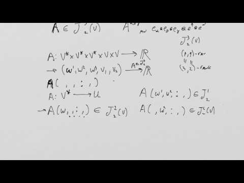 What is a Tensor? Lesson 12 (redux): Contraction and index gymnastics