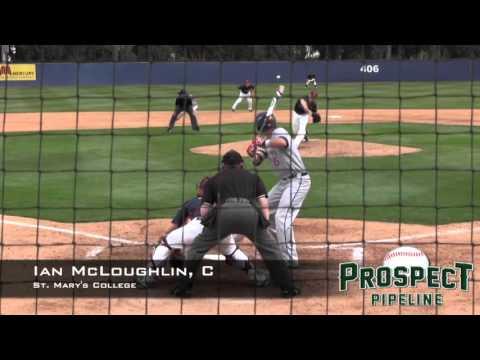 Ian McLoughlin, C, St. Mary's College, Home Run vs LMU
