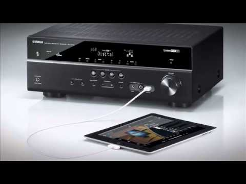 Yamaha yht599 home theater system overview video youtube for Yamaha 7 2 home theatre system
