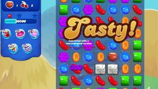 Candy Crush Saga 729 20 moves start with Space Dash