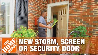 How to Measure F๐r a New Storm, Screen or Security Door | The Home Depot