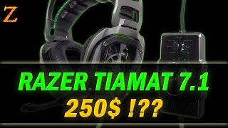 Razer Tiamat 7.1 - стоит ли наушники 28000 ₽?