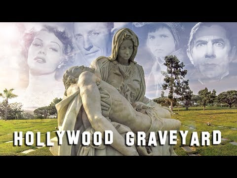 FAMOUS GRAVE TOUR - Holy Cross #1 (Bela Lugosi, Sharon Tate, etc.)