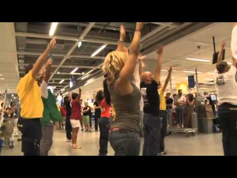 Flash Mob Ikea Rimini Youtube