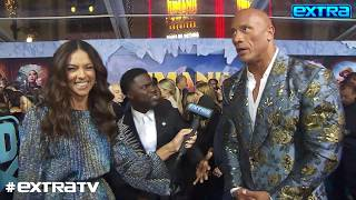 Dwayne 'The Rock' Johnson on 'Brother' Kevin Hart: 'I Am So Happy That He's Back'