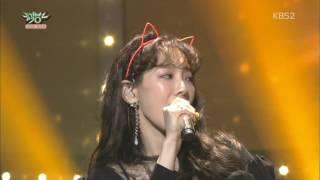 "Gambar cover 170317 Taeyeon 태연 ""FINE"" _ WIN 1st + Encore @ Music Bank"