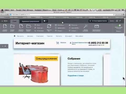 вебинар Как открыть свой интернет-магазин на 1С-Битрикс,  практика