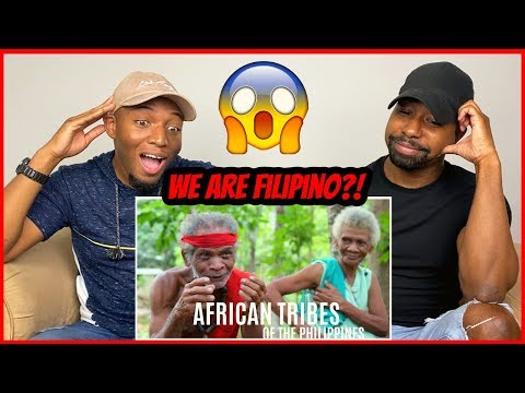 🇵🇭NO WAYY! ARE WE FILIPINO?! 😱| AFRICAN TRIBES OF THE PHILIPPINES