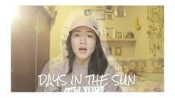 Days In The Sun Cover - Originally by Adam Mitchell | Ruth Sarastia