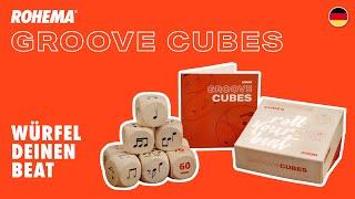 Rohema Groove Cubes - Würfel deinen Beat!