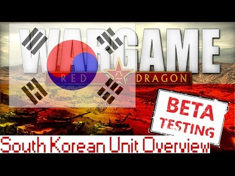 Republic of Korea (South Korea) Units Overview - Red Dragon Preview