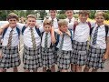 Boys Wear Skirts To Protest At School