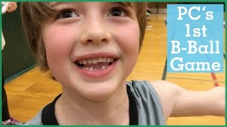 PC's First Basketball Game | The Holderness Family