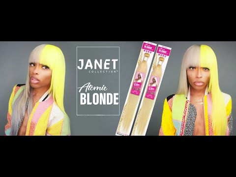 Janet Collection Half & Half Atomic Blonde Review