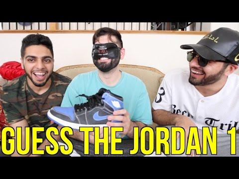 Guess The Sneaker Game!! (Jordan 1 Edition)