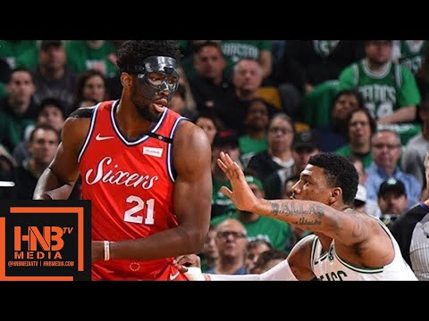 Philadelphia Sixers vs Boston Celtics Full Game Highlights / Game 1 / 2018 NBA Playoffs