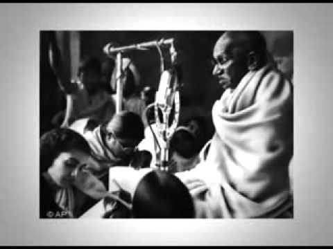 Gandhi's address on All India Radio