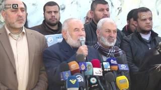 بالفيديو  وقفة في غزة احتجاجاً على إعادة حكم