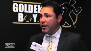 Oscar De La Hoya says Mayweather wasn
