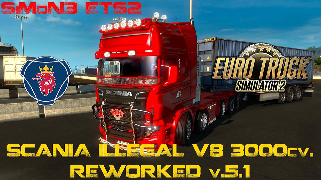 V8 illegal reworked truck v5 0 simulator games mods download - V8 Illegal Reworked Truck V5 0 Simulator Games Mods Download 14