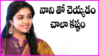 Keerthi Suresh About Acting With Nani In Nenu Local Movie | Latest Funny Interview