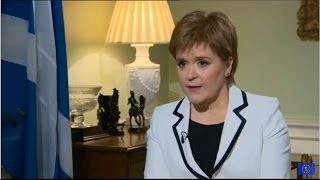 Nicola Sturgeon: UK is in peril because Theresa May has no Brexit plan