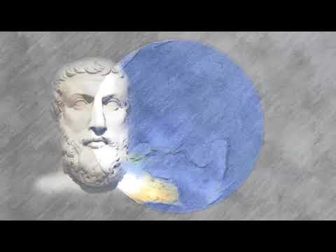 Democritus. The great Greek philosopher