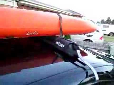 Easy Fit Roof Racks Maxx Load - Soft Roof Racks - YouTube