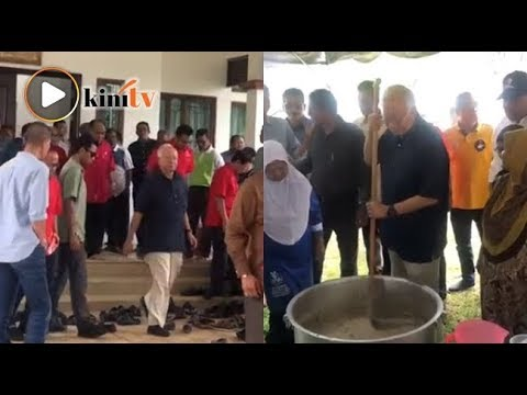 Najib tiba di Pekan