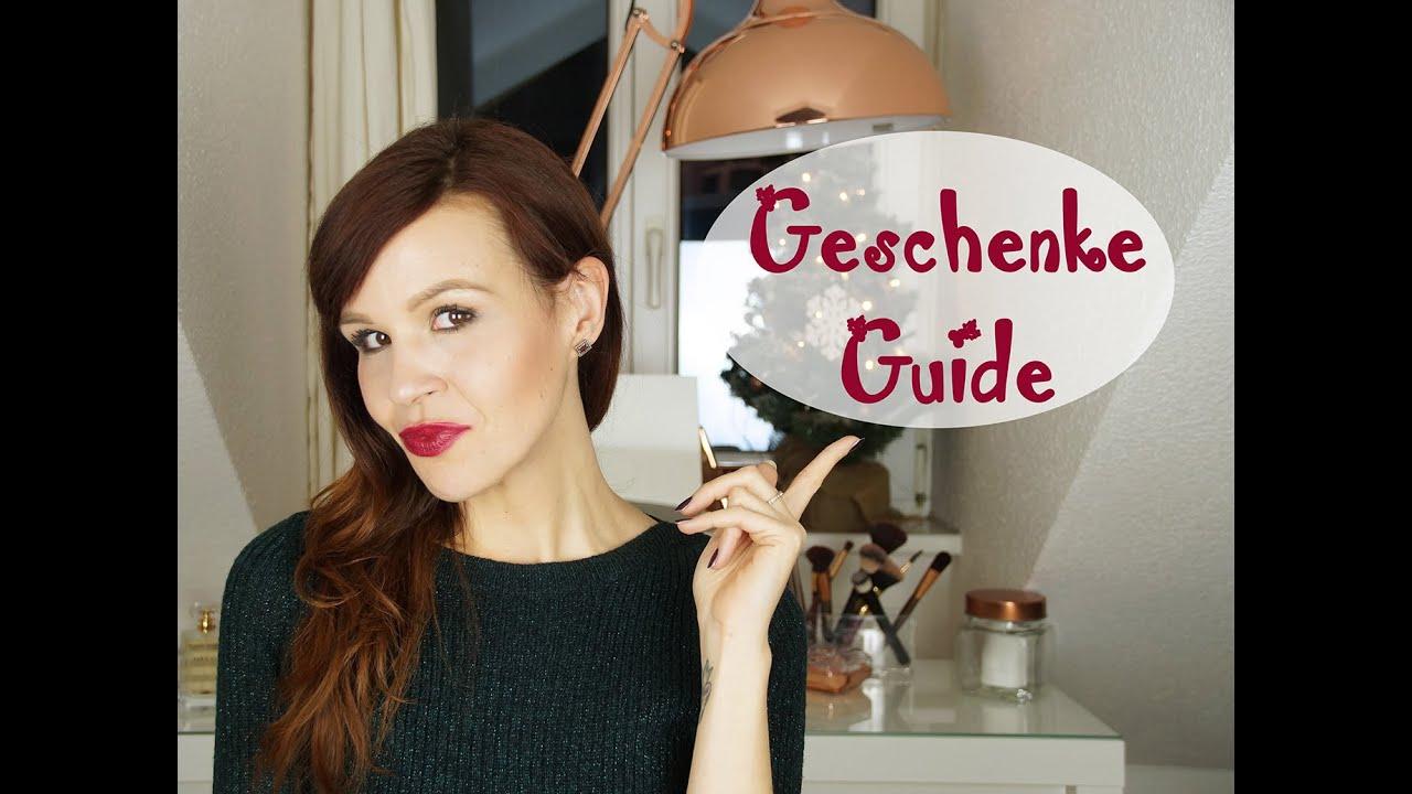 Gift Guide. Weihnachtsgeschenk-Ideen (Freund, Freundin, Familie ...