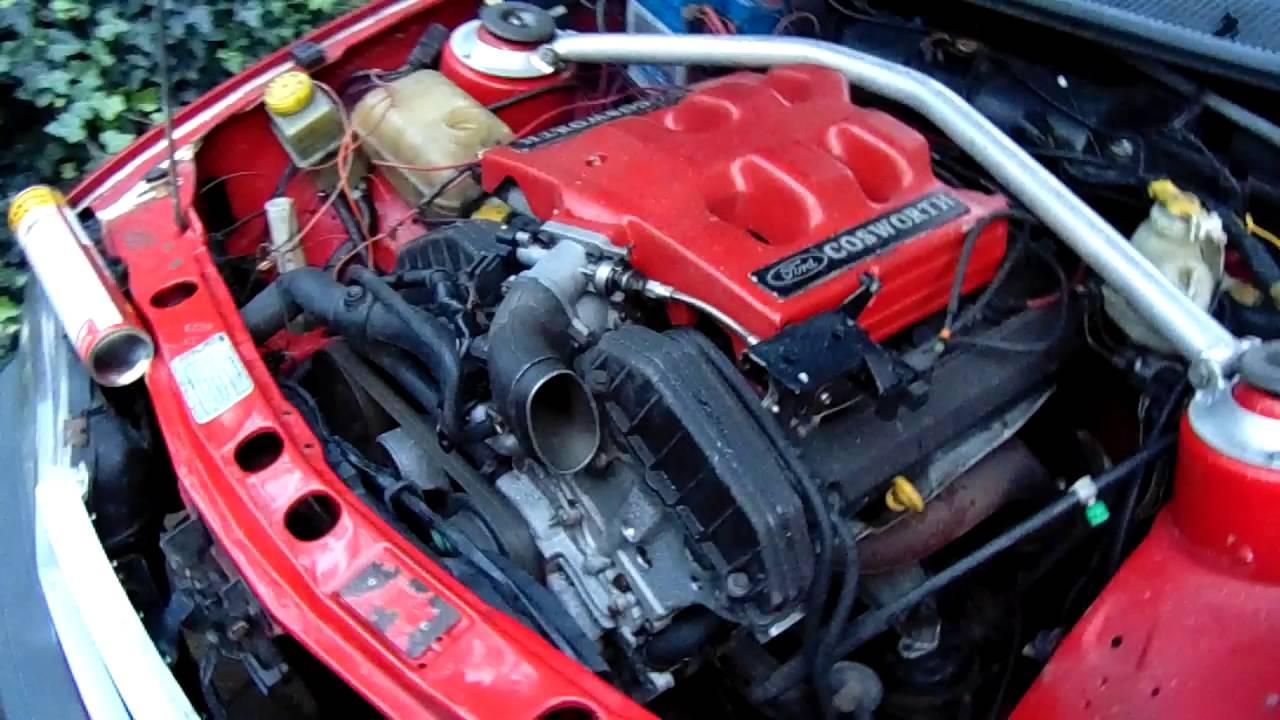 Cosworth 2 9 24V engine exhaust sound