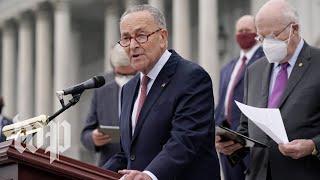 Senate Democrats discuss boycotting Amy Coney Barrett committee vote