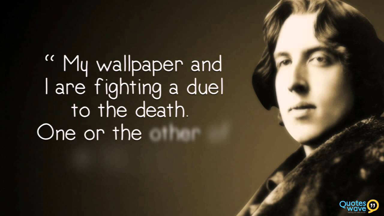 Quotes About Friendship By Famous Authors Best Oscar Wilde Quotes  Youtube