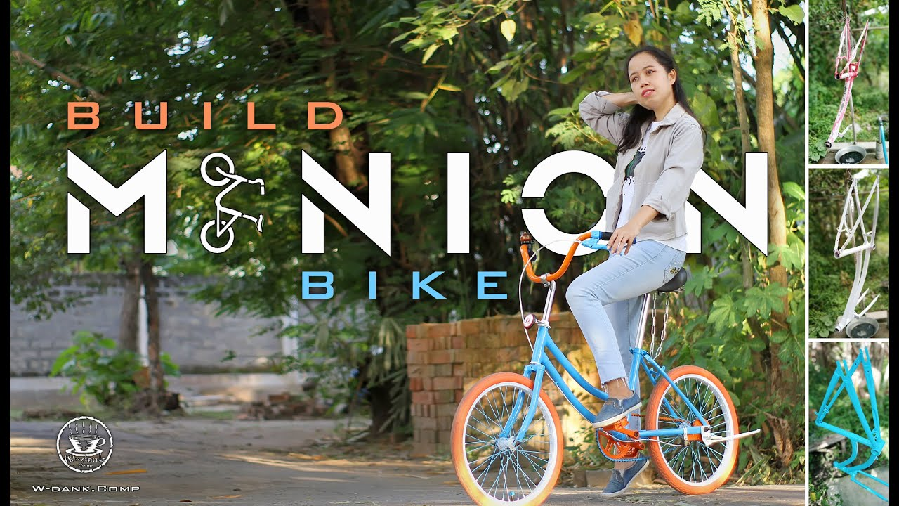 Modif Sepeda Minion Kw 2 W Dank Comp Youtube