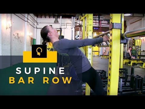 5EW Exercises: Supine Bar Row
