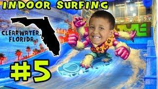 (FUNnel Vision)Indoor Surf July 2014 Florida Trip Part 5 Surf Style   Flowrider